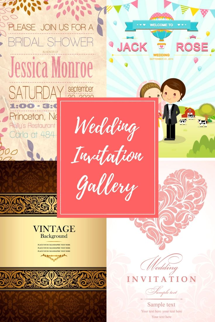 12 Fully Exclusive, Up-To-Date And Cost Effective Wedding Invitation ...