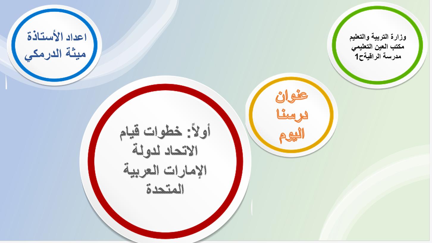 بوربوينت خطوات قيام الاتحاد لدولة الإمارات العربية المتحدة للصف الثاني مادة الدراسات الاجتماعية و Lie Pie Chart Chart