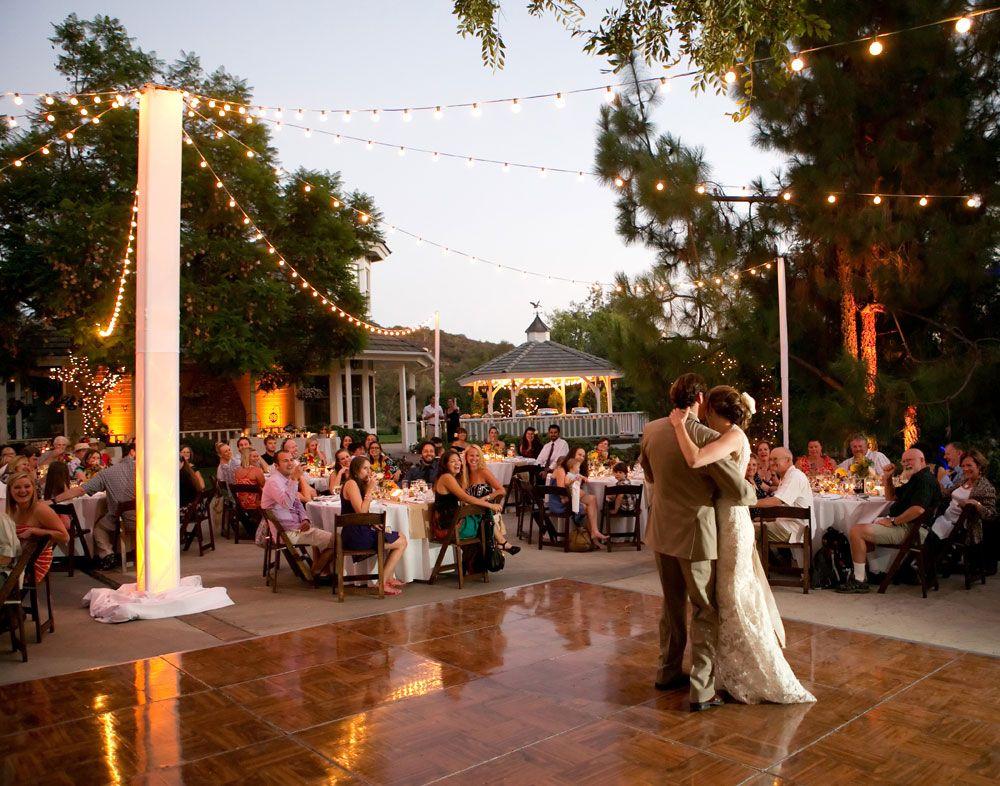 San Diego Estate Wedding Lighting Uplit Truss Tower Market Lights With Amber Uplights