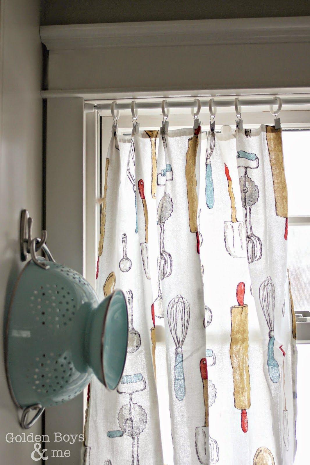 kitchen dish towels turned kitchen curtains decor kitchen rh pinterest com