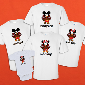 Thanksgiving Disney Family Shirts Thanksgiving Shirt