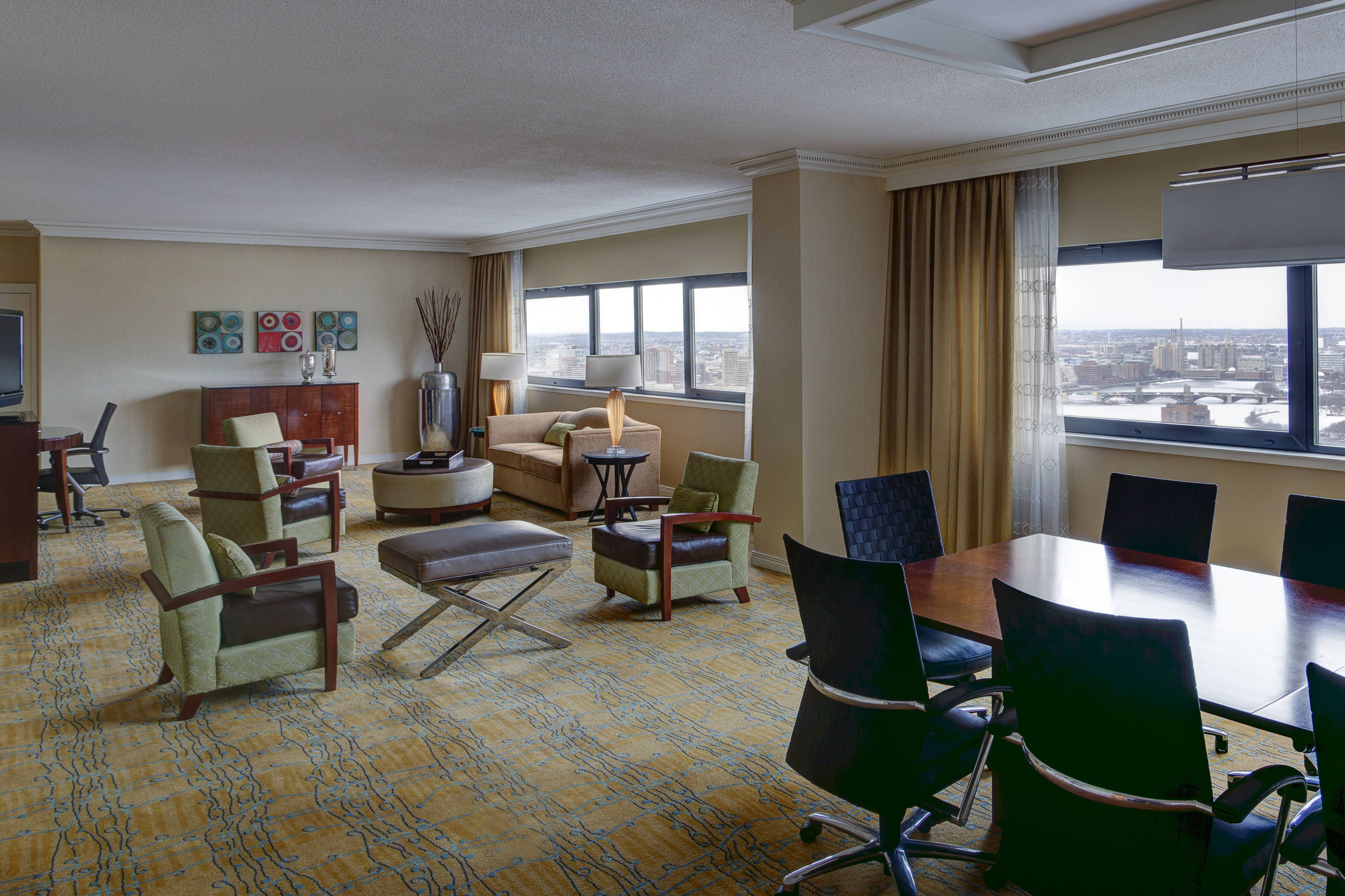 Boston Marriott Copley Place Vice Presidential Suite Hotels Traveling Guestroom Home Design Plans House Design Home