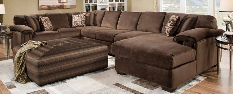 Oversized Extra Deep Sectional Coffee Tables Ideas