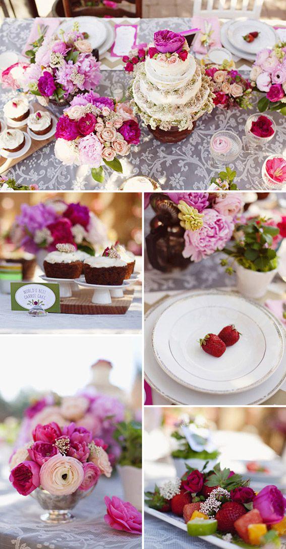 tea party Cumpleaños adultos Pinterest Cumpleaños