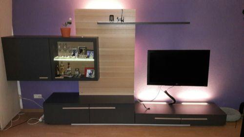 Ebay Angebot Wohnwand Schrankwand Wohnzimmermobel Echtholz