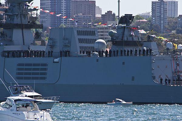 Sahyadri In Sydney Harbour Harbour Tall Ships Warship