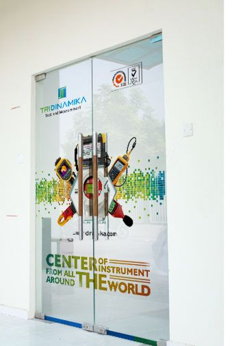 Beau Tridinamika Balikpapan Glass Door Sticker Design #design #inspiration