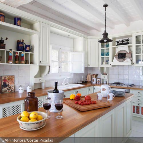 Lackierte Küchenfronten küche im landhausstil küchenfronten landhausstil und lackieren