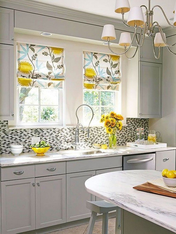 20 Magnificient Kitchen Cabinet Curtain Ideas To Look Stunning Kitchen Remodel Small Kitchen Design Small Kitchen Remodel