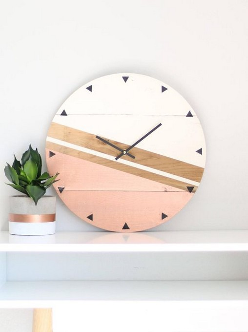 34 Great Wall Clocks For Home Design Cactus34 Great Wall Clocks For Home Design Cactuscet Article N 39 Es In 2020 Clock Wall Decor Diy Clock Wall Copper Decor