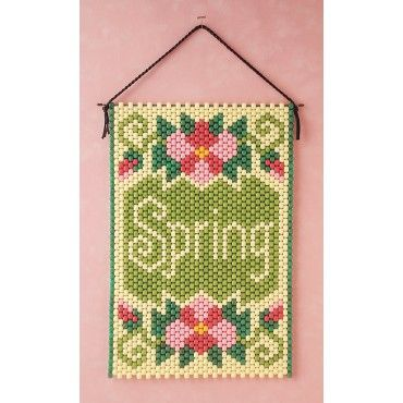 Mary Maxim - Spring Beaded Banner Kit