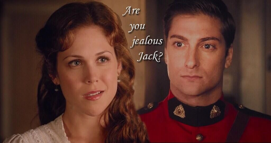 """In Season 2 of """"When Calls The Heart"""", we're pretty certain we'll see the tables turned ;) #FollowFriday @erinkrakow pic.twitter.com/zf01yfAOdG"""