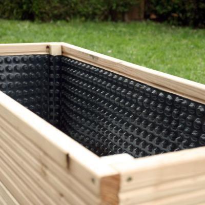 Pflanzgefässe selber bauen Terasse Sichtschutz Pinterest - garten steinmauer selber bauen