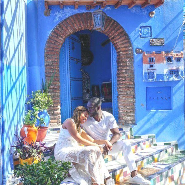 Reisende Paare Date Night Vacation Fernweh Liebe Romantik