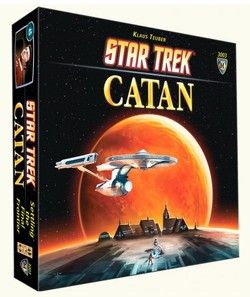 Settlers of Catan Star Trek Edition $59.99 - from Well.ca