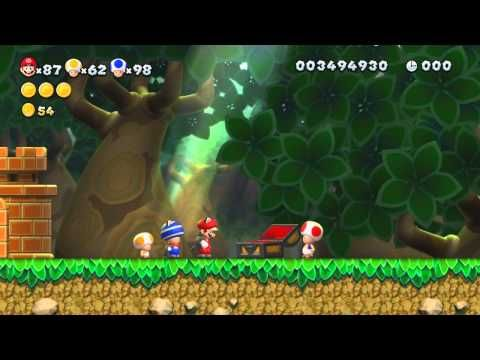 New Super Mario Bros U 100% Walkthrough Episode 13 - World 5 - Soda