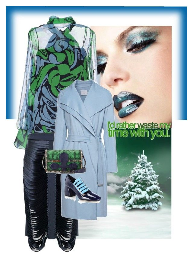 """""""Let us love winter, for it is the spring of genius"""" by obsessedaboutstyle on Polyvore featuring Miu Miu, Dion Lee, Vince and Bottega Veneta"""