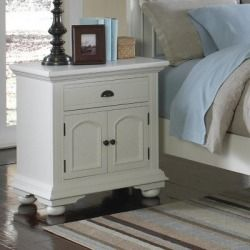 Check Price Addison White Nightstand Best Discounts Online! , Lauren Wells  Long Lasting Strength