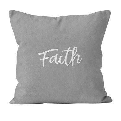 Ebern Designs Mims Faith Throw Pillow Floral Throw