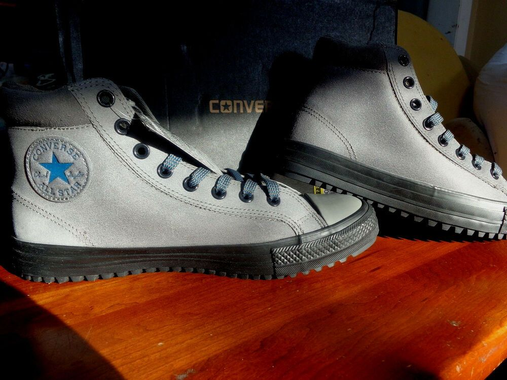4a2a12048284 Details about CONVERSE CHUCK TAYLOR ALL STAR BOOT PC HI CHARCOAL ...