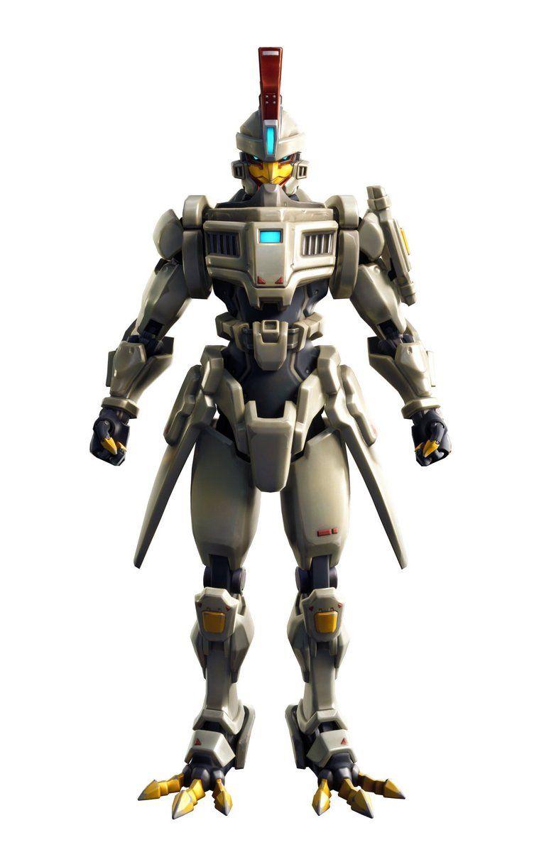 Robot Fortnite Dessin Saison 9 Eden Frais