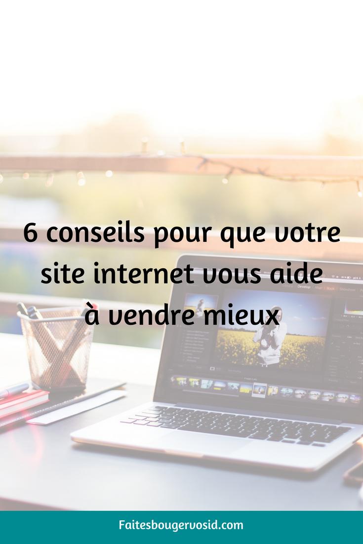 votre premiere etape est de vous assurer que votre site est marketing friendly et pas seulement joli ces 6 conseils vous aideront