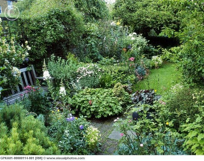 Instead Of Just A Green Square Of Grass Small City Garden City Garden Urban Garden