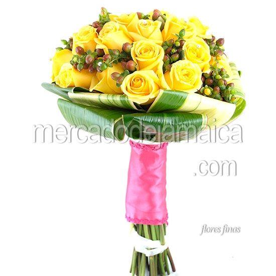 Ramo con Rosas Amarillas Festiva  Envia Flores