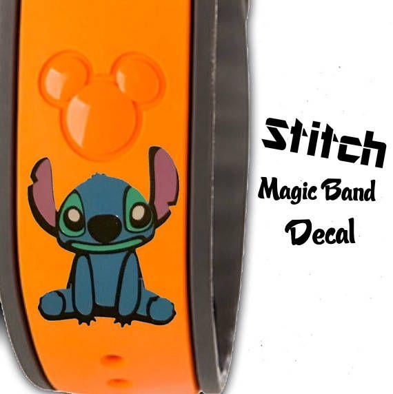 Stitch Magic Band Vinyl Decal Original Or Magic Band - Magic band vinyl decals