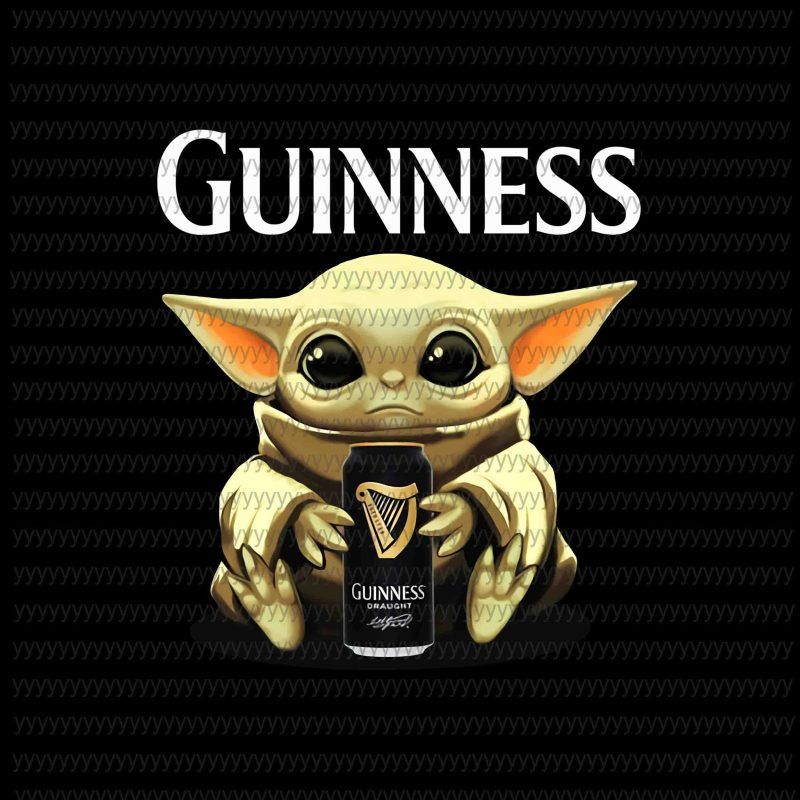 Baby Yoda Guinness Png Baby Yoda Png Star Wars Png The Mandalorian The Child Png Jpg