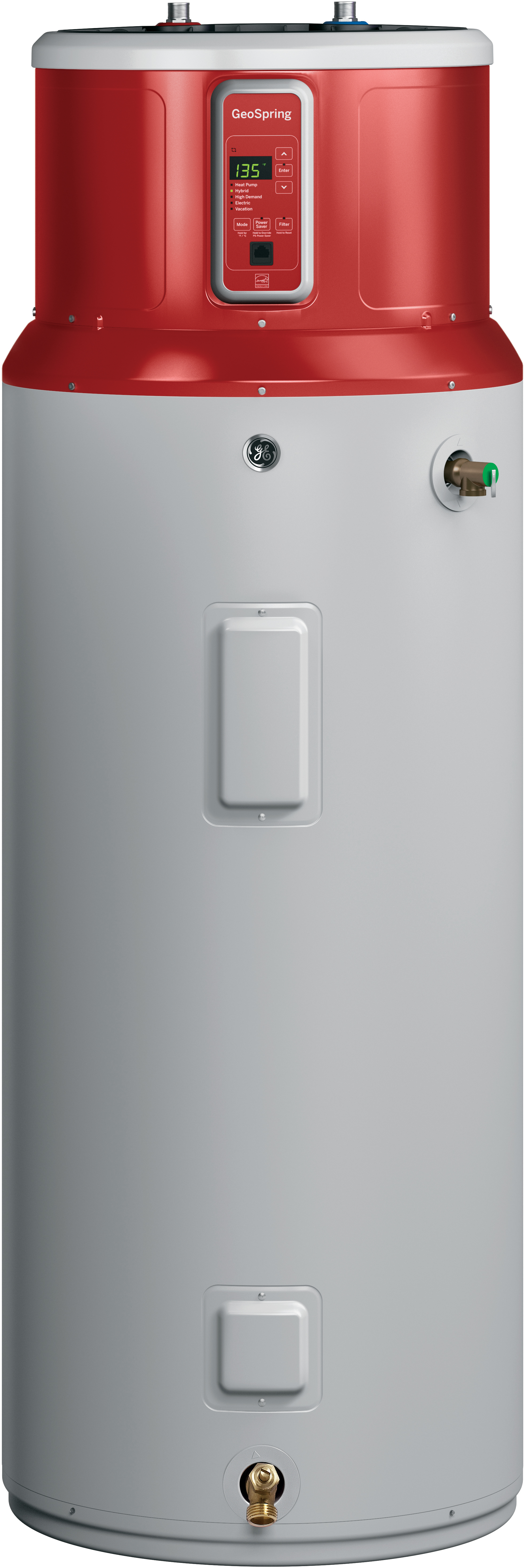 Ge Introduces 80 Gallon Geospring Hybrid Electric Water Heater Made In Louisville Ky Water Heater Electric Heat Pump Heat Pump Water Heater