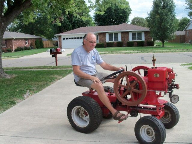 Hit And Miss Engines The Tractor Guys Garden Tractor