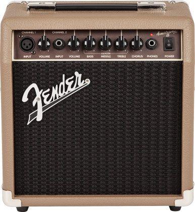 Fender Acoustasonic 15 Acoustic Amp Acoustic Guitar Amp Fender Guitar Amps Acoustic Guitar