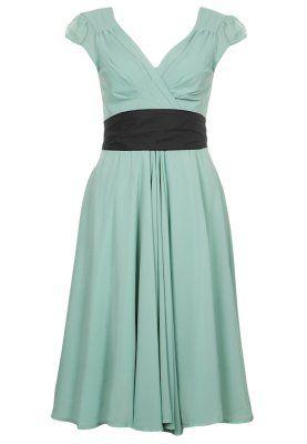 Süßes, verspieltes Kleid in zartem Grün. Eucalyptus REGINA ...