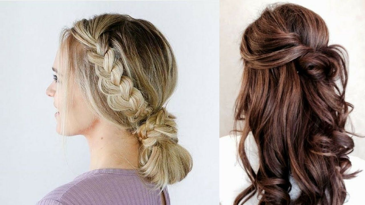 Very easy hairstyles for beginners cute girls hairstyles part