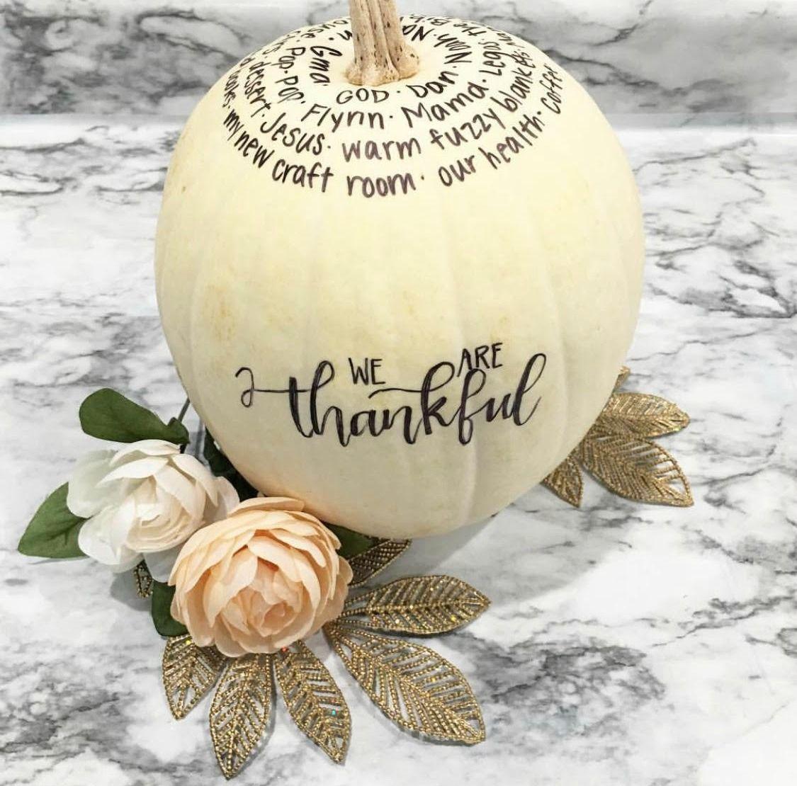 Thankful Pumpkin Tradition - Amy Latta Creations