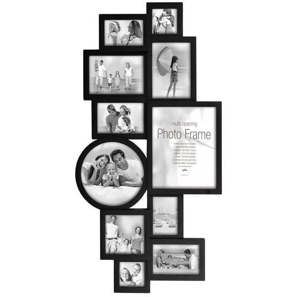 maggiore xxv multi photo frame black - Multi Photo Frames