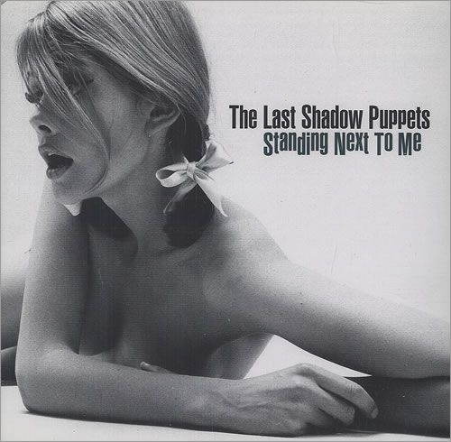 The Last Shadow Puppets Standing Next To Me Album Art