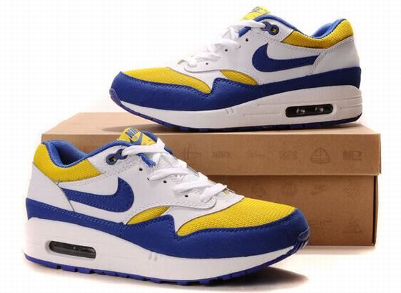 promo code 78bd1 a0e67 ... clearance im selling men nike air max 87 white blue yellow 80.00 onselz  5c2af 5a1d0