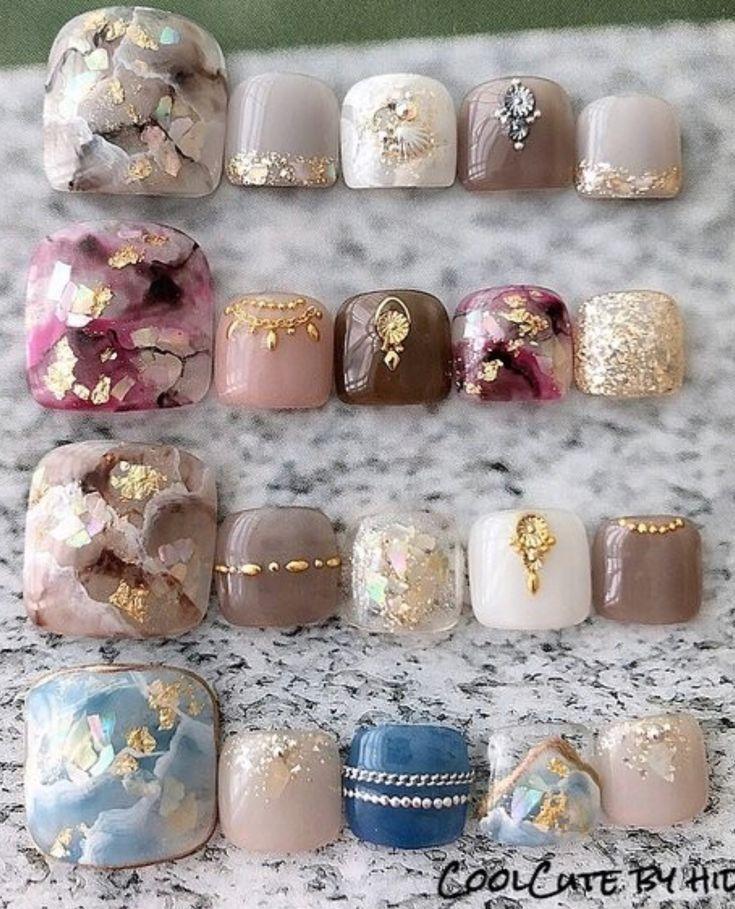 Mẫu móng chân  is part of nails - nails