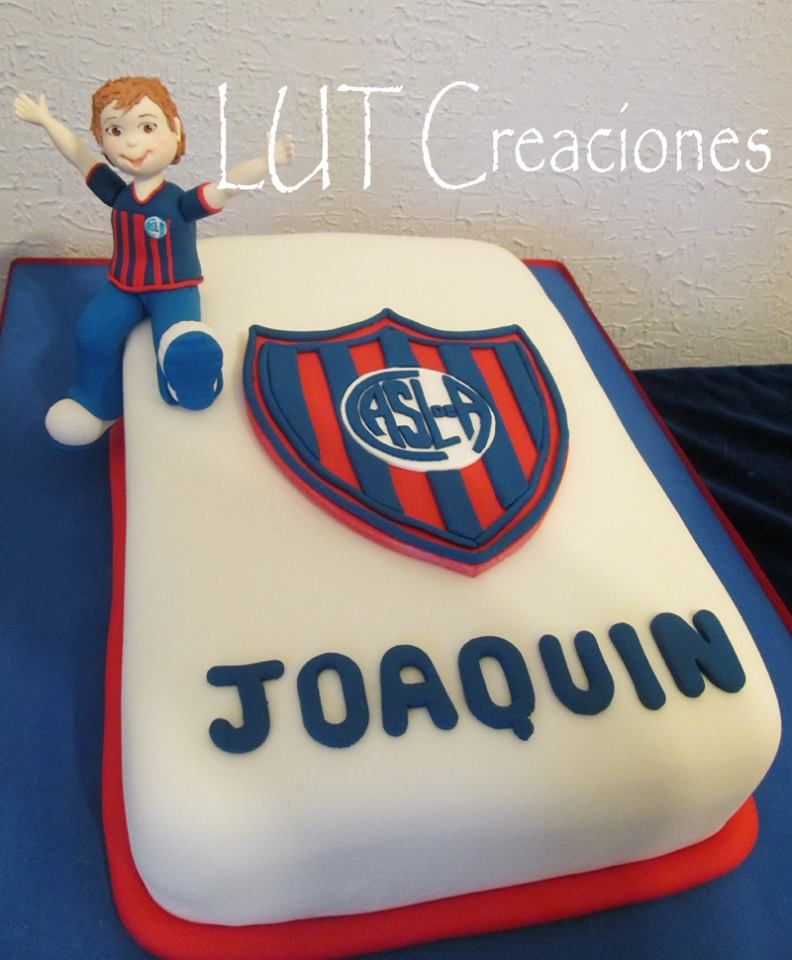 Torta Decorada San Lorenzo Tortas De Cumpleaños Equipos De