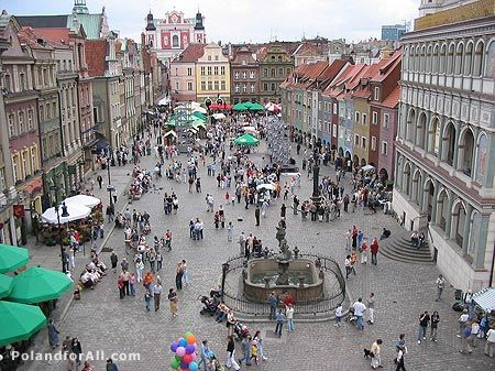 Poznan The Old Market Square Poland Vacation Europe Destinations Places To See