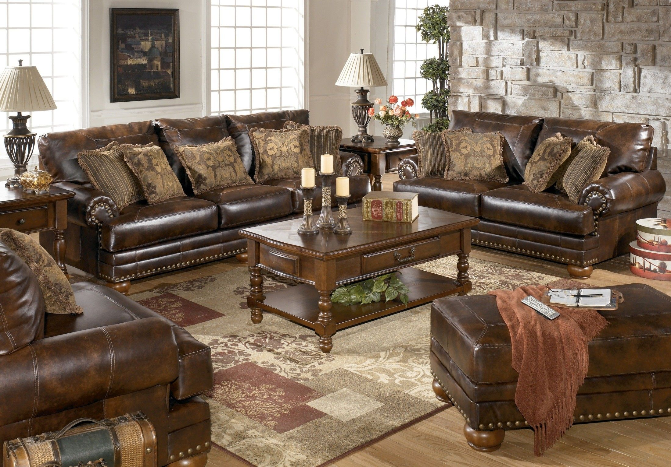 Beautiful My New Sofa And Loveseat!! | Ashley Furniture DuraBlend Antique Sofa    9920038   · Living Room ... Part 8