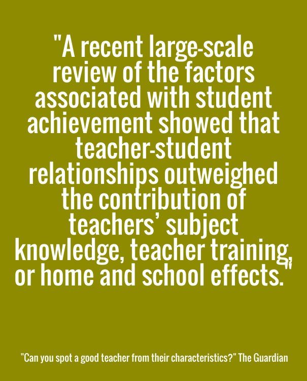 Quotes About Teachers And Students Relationships Statistic Of Th...