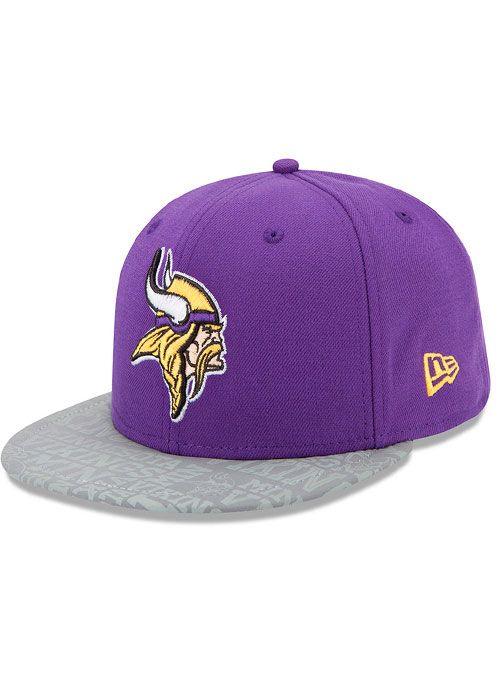 New Era Vikings 59fifty 2014 Draft Hat  628e6c13a1e