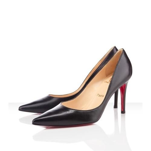 Christian Louboutin New Decoltissimo 80mm Pumps Black