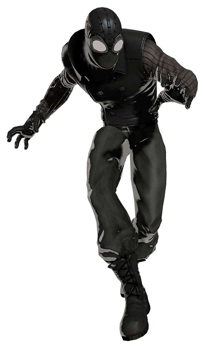 spider-man noir. pretty nifty levels of the game spider-man