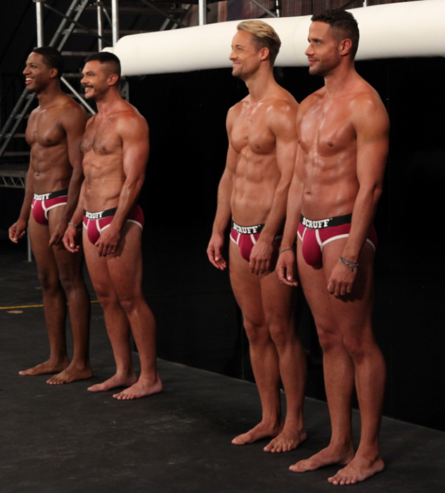 American male models naked