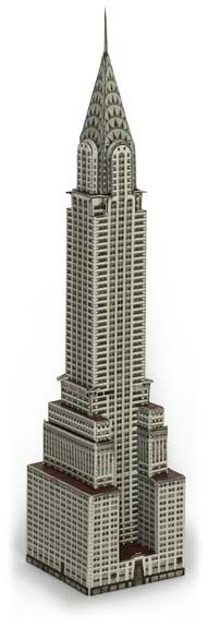 Chrysler Building Model