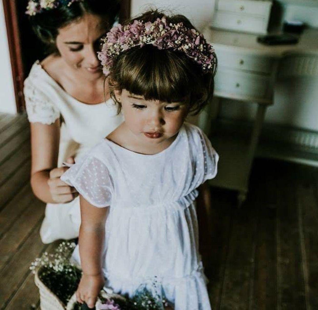 Vestido niña arras | Peques y bodas! | Pinterest | Vestidos novia ...